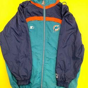 Vintage Dolphins Windbreaker NFL Miami
